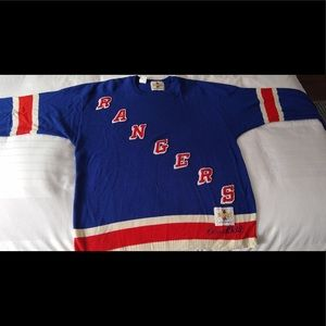 Other - Circa 1933 New York Rangers CCM Heritage Sweater